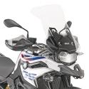 Vysoké cestovní plexi Givi/Kappa 54cm pro BMW F850GS, čiré