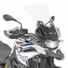 Vysoké cestovní plexi Givi/Kappa 54cm pro BMW F750GS, čiré
