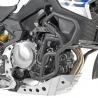 Spodnípadací rám Givi/Kappa pro BMW F850GSa F750GS. 25mm silné trubky chrání důležité části motorky při výletech mimo silnice. černý