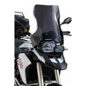 Cestovní plexi Ermax 45cm pro BMW F800GS, F650GS 2008+, tmavě kouřové