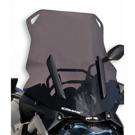 Cestovní plexi Ermax 46cm pro BMW R1250GS/A, R1200GS LC 2013-2018, tmavě kouřové