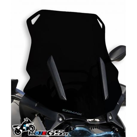 Cestovní plexi Ermax 46cm pro BMW R1250GS/A, R1200GS LC 2013-2018, matná černá