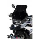 Sportovní plexi Ermax 39cm pro BMW F850GS, matná černá