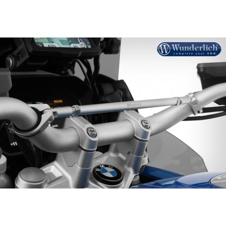Univerzální hrazda řidítek Wunderlich pro BMW GS, stříbrná