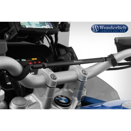 Univerzální hrazda řidítek Wunderlich pro BMW GS, černá