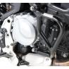 Spodnípadací rám odHepco Becker pro BMW F850GS a F750GS. Designově velmi povedený rám s dobrou ochranou motoru. černá barva možno kombinovat shorním padacím rámem