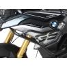 Horní padací rám odHepco Becker pro BMW F850GS a F750GS. Designově velmi povedený rám s dobrou ochranou motoru. černá barva doporučujeme kombinovat sespodním padacím rámem Hepco Becker