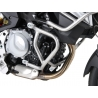 Nerezový spodnípadací rám odHepco Becker pro BMW F850GS a F750GS. Designově velmi povedený rám s dobrou ochranou motoru. nerez ocel možno kombinovat snerezovým horním padacím rámem Hepco Becker