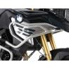 Nerezový horní padací rám odHepco Becker pro BMW F850GS a F750GS. Designově velmi povedený rám s dobrou ochranou motoru. nerez ocel doporučujeme kombinovat snerezovým spodním padacím rámem Hepco Becker