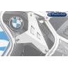 Doplňkové kryty nádrže rozšíření Wunderlich originálního padacího rámu BMW R1200GS Adventure LC 2014-2018, stříbrné