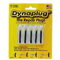 Náhradní knoty pro opravnou sadu pro bezdušové pneumatiky Dynaplug