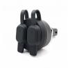 Nahraďte snadno originální malou zásuvku BMW 2x USB zásuvkou s konektorem pro snadné připojení. Stačí pouze odpojit původní zásuvku a připojit. 1x USB 2.3A (rychlé nabíjení), 1x USB 1.0A (5V) kompatibilní s BMW CAN-Bus vodotěsné díky gumovým krytkám