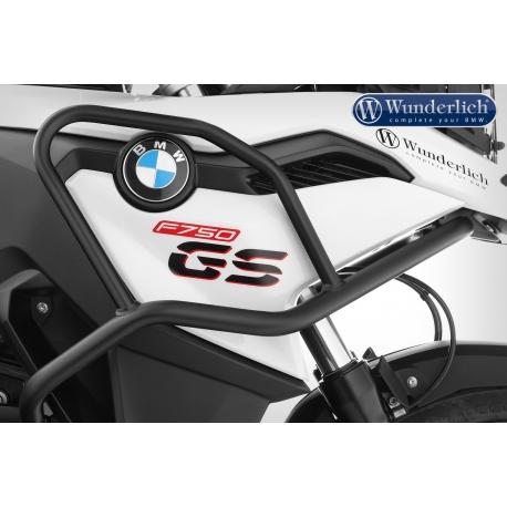 Horní padací rám Wunderlich pro BMW F750GS, černý