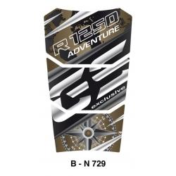 Tankpad na nádrž pro R1250GS Adventure 2018+, černo-zelený