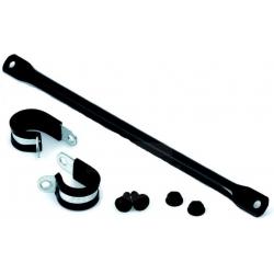 Univerzální hrazda řidítek pro BMW GS, černá