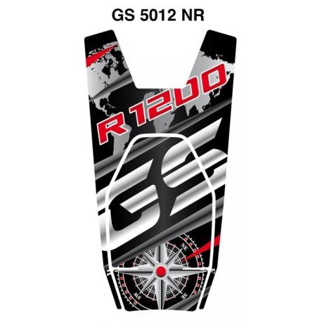Tankpad na nádrž pro R1200GS LC 2013-2018, černo-červený
