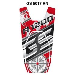Tankpad na nádrž pro R1200GS LC 2013-2018, červeno-černá