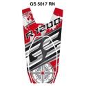 Tankpad na nádrž pro R1200GS LC 2013-2018, červeno-černý