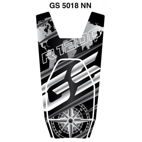 Tankpad na nádrž pro R1200GS LC 2013-2018, černo-šedá