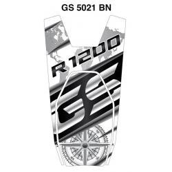 Tankpad na nádrž pro R1200GS LC 2013-2018, bílo-černý