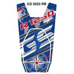 Tankpad na nádrž pro R1250GS HP 2018+, modro-červený