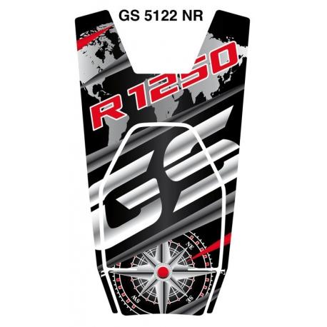 Tankpad na nádrž pro R1250GS 2018+, černo-červený