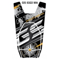 Tankpad na nádrž pro R1250GS Exclusive 2018+, černo-zlatý