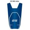 Tankpad s motivem GS na nádrž pro R1250GS, R1200GS LC 2013-2018, modrý