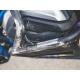 Spodní padací rám Outback Motortek pro R1200GS LC 2013-2018, stříbrný