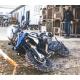 Horní padací rám Outback Motortek pro R1200GS LC 2013-2018, stříbrný