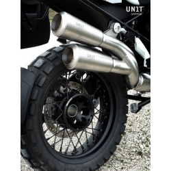 Dvojitý výfuk Unit Garage pro R1250GS/A, R1200GS/A LC 2013-2018
