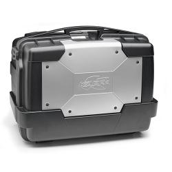 Plastový topcase Kappa Garda 46l, černo-stříbrný