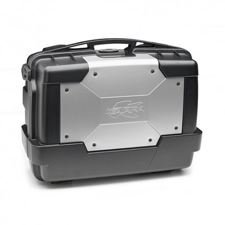 Plastový topcase Kappa Garda 33l, černo-stříbrný