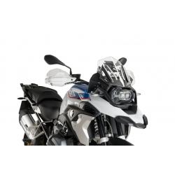 Plexi sportovní nízké 33cm Puig pro BMW R1250GS/A, R1200GS/A LC 2013-2018, čiré