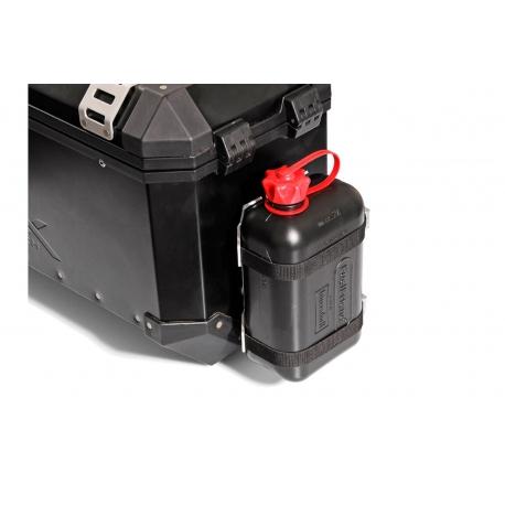 Plastový kanystr 2 litry včetně držáku na kufr