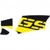 """Samolepka """"GS"""" na kardan pro R1200GS/A 2004-2012, žluto-černá"""