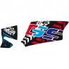 """Samolepka """"GS"""" na kardan pro R1200GS/A 2004-2012, barevná"""