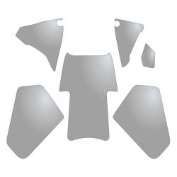 Set transparentních samolepek proti poškrábání pro R1250GS Adventure, R1200GS Adventure LC 2014-2018