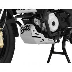 Kryt motoru Ibex pro BMW G310GS, stříbrný