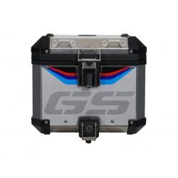 """Samolepka """"GS"""" na originální ALU topcase pro R1250GS ADV 2018+, R1200GS ADV LC 2014-2018, R1200GS ADV 2006-2013"""