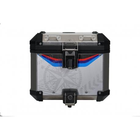 """Samolepka """"Navigator"""" na originální ALU topcase pro R1250GS ADV 2018+, R1200GS ADV LC 2014-2018, R1200GS ADV 2006-2013"""