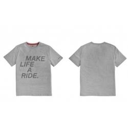 Pánské tričko BMW s potiskem MAKE LIFE A RIDE