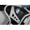 Doplňkové kryty nádrže rozšíření Wunderlich originálního padacího rámu BMW R1250GS Adventure 2018+, stříbrné