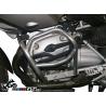 Zesílenýspodní padací rám Heed pro BMW R1200GS 2004-2012. Účinná ochrana důležitých částí při pádu díky velmi pevné konstrukci, která je zesílená trubkou nad horní částí válce. Barva: stříbrná