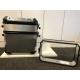 Rámečky pro zvětšení kapacity originál ALU kufrů + sedací vak (limitovaná edice 40 Years GS), stříbrné