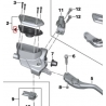 Těsnění spojkové nádobky R1250GS/A, R1200GS/A LC 2013-2018