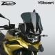 Sportovní plexi ZTechnik VStream 33cm pro BMW F750GS, tmavě kouřové