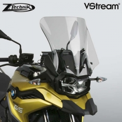 Sportovně cestovní plexi ZTechnik VStream 33cm pro BMW F750GS, lehce kouřové