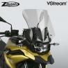 Sportovně cestovní plexi ZTechnik VStream 41cm pro BMW F750GS, lehce kouřové