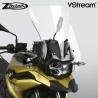 Vysoké cestovní plexi ZTechnik VStream 48cm pro BMW F750GS, čiré
